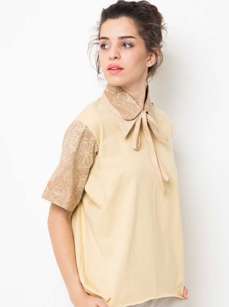 Honey Tees Flower [Khaki]